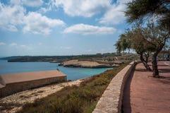Vue de plage de balai Photographie stock libre de droits