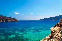 Vue de plage de Gordo de bonito Photos libres de droits