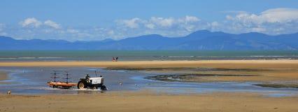 Vue de plage de Marahau, Nouvelle-Zélande Image stock