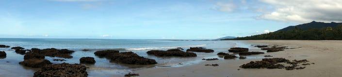 Vue de plage de Thornton Photographie stock