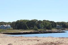 Vue de plage de l'eau Image libre de droits