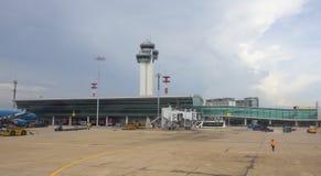 Vue de plan rapproché d'aéroport de Tan Son Nhat Photo stock