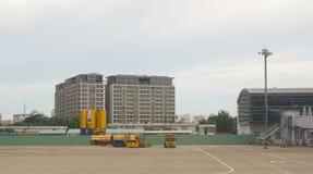 Vue de plan rapproché d'aéroport de Tan Son Nhat Photos stock