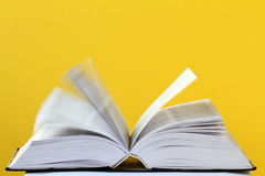 Vue de plan rapproché d'un livre ouvert Photos libres de droits