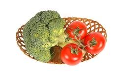 Vue de plan rapproché des légumes Photo libre de droits