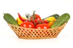Vue de plan rapproché des légumes Photos libres de droits