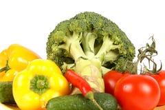 Vue de plan rapproché des légumes Images libres de droits