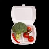 Vue de plan rapproché des légumes Image libre de droits