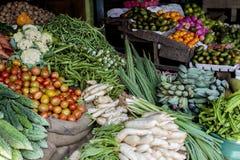 Vue de plan rapproché des légumes frais Photo libre de droits