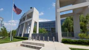 Vue de plan rapproché des sièges sociaux d'ATF, Washington DC Image libre de droits