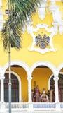 Vue de plaza de armas, place principale de Lima, Pérou photo stock