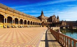 Vue de Plaza de Espana Photos stock