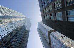 Vue de point de vue de gratte-ciel de bureau photos stock