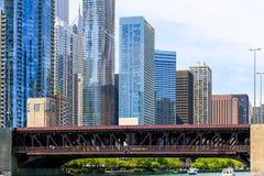Vue de pont Images libres de droits