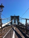 Vue de pont de Brooklyn Photo libre de droits