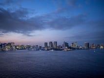 Vue de pont en arc-en-ciel, Tokyo, Japon, itinéraire du nord photographie stock