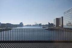 Vue de pont de Langebro photographie stock