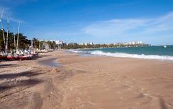Vue de Ponta Verde Photographie stock libre de droits