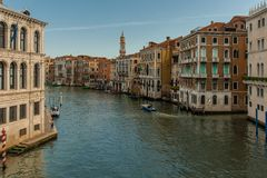 Vue de Ponte Rialto photo stock