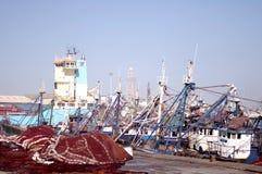 Vue de port à la mosquée Photos libres de droits
