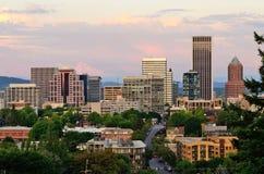Vue de Portland Image libre de droits