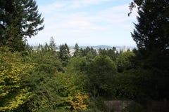 Vue de Portland, Orégon Images libres de droits
