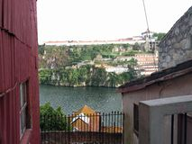 Vue de Porto Image libre de droits