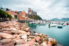 Vue de Porto Venere Photographie stock libre de droits