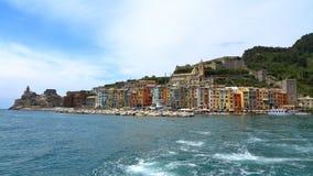 Vue de Porto Venere, Ligurie, Italie Photo libre de droits