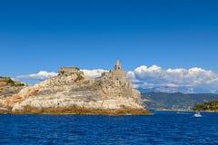 Vue de Portovenere Photos libres de droits