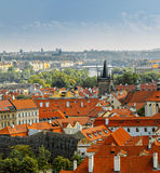 Vue de Prague Photographie stock