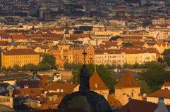 Vue de Prague 2008 de la vieille ville Photos stock