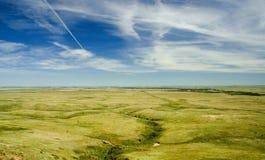 Vue de prairie Photo stock