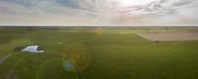 Vue de prairie photographie stock