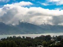 Vue de ` de Presa de la Boca de ` de Boca Dam de La d'un belvédère situé dans la ville de Santiago image libre de droits