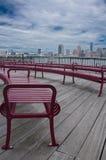 Vue de promenade de Manhattan Images libres de droits