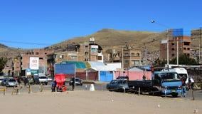Vue de Puno, Pérou photos libres de droits
