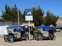 Vue de Puno, Pérou Images libres de droits