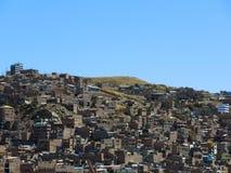 Vue de Puno, Pérou images stock