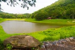 Vue de réservoir : Parc national de réservoir de Khao Ruak dans Saraburi P Image stock