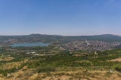 Vue de Ram et de Mas'ade de Berekhat images stock