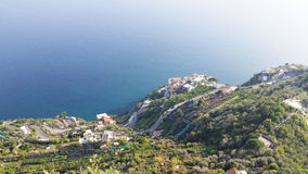 Vue de Ravello Photo stock