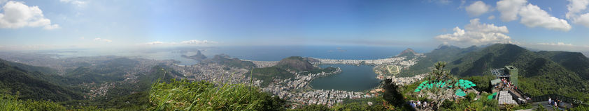 Vue de redentor de Cristo Photo stock