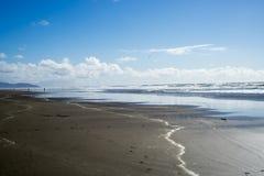 Vue de ressort en plage d'océan, plage d'océan, San Francisco Images libres de droits