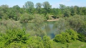vue de ressort de rivière Photo libre de droits