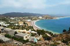 Vue de Rhodes en Grèce Photos libres de droits