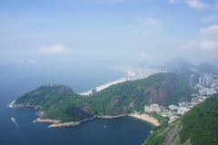 Vue de Rio de Janeiro Photos stock