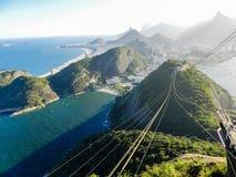 Vue de Rio de Janeiro Images libres de droits