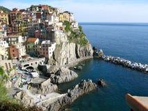 Vue de Rio Maggiore, Italie Photo libre de droits