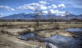 Vue de rivière Image libre de droits